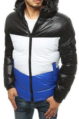 Black mens quilted winter jacket TX3429 pánské Neurčeno S