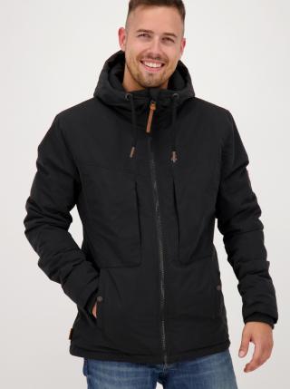 Black Mens Winter Jacket Alife and Kickin pánské černá XL