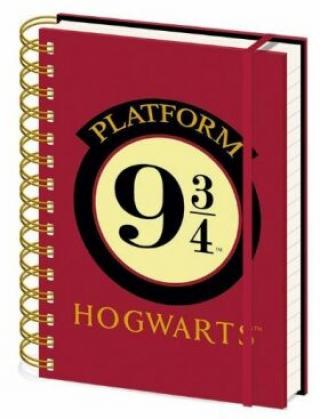Blok A5 kroužkový Harry Potter 9 a 3/4