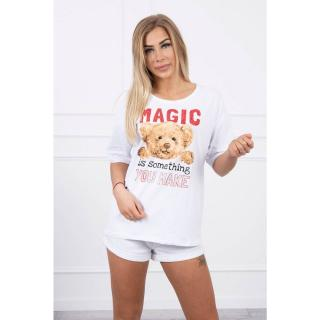 Blouse with a print Magic white dámské Neurčeno One size