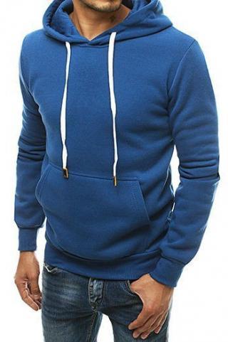 Blue mens hoodie BX4701 pánské Neurčeno M