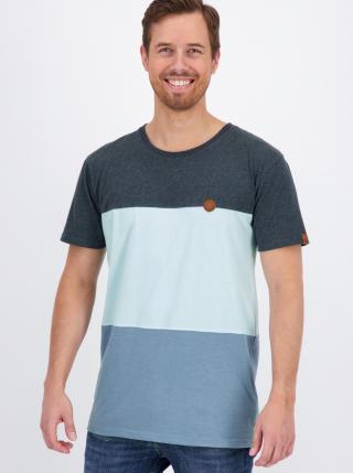 Blue Mens T-Shirt Alife and Kickin pánské modrá S