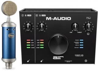 Blue Microphones BlueBird SL   M-Audio AIR 192|6 SET