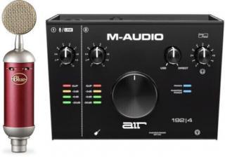 Blue Microphones Spark SL   M-Audio AIR 192|4 SET
