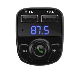 Bluetooth - FM transmitter s USB