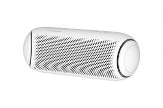 Bluetooth přenosný reproduktor LG XBOOM GO PL5W, bílá