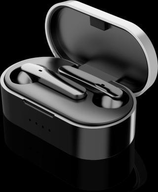 Bluetooth sluchátka Aligator Pods, černá