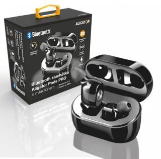 Bluetooth sluchátka ALIGATOR PODS PRO, černá