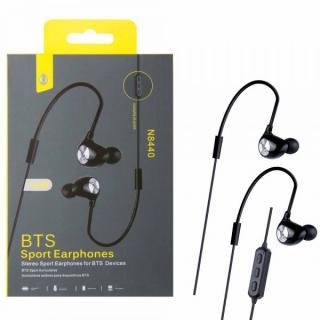 Bluetooth sportovní sluchátka do uší PLUS N8440, black