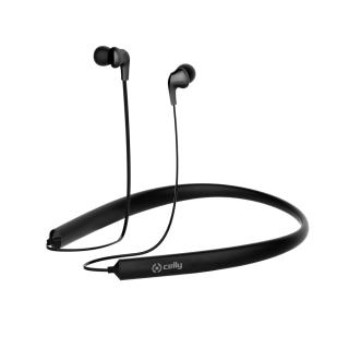 Bluetooth stereo sluchátka CELLY NECK multipoint black