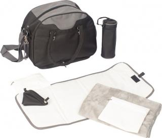 BO JUNGLE Přebalovací taška B-CITY Black černá