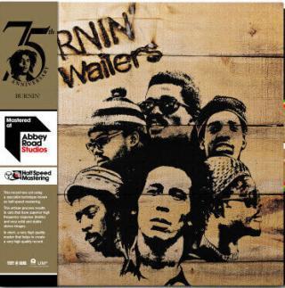 Bob Marley & The Wailers Burnin  Black
