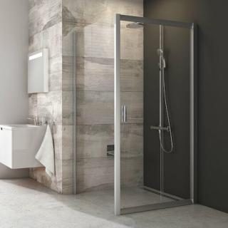 Boční zástěna ke sprchovým dveřím 100x190 cm Ravak Blix chrom matný 9BHA0C00Z1 lesk