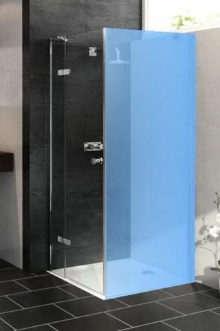 Boční zástěna ke sprchovým dveřím 120x200 cm Huppe Aura elegance chrom lesklý 3T1606.092.322
