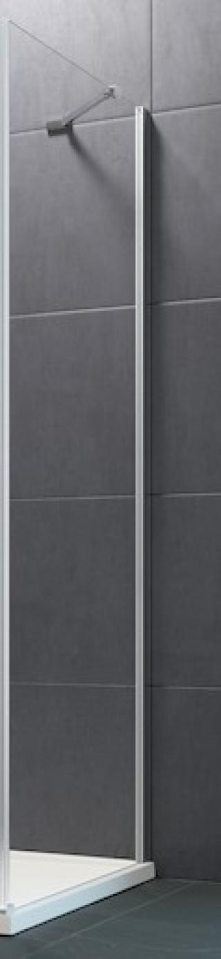 Boční zástěna ke sprchovým dveřím 80x190 cm Huppe Design Pure chrom lesklý 8P1003.092.321