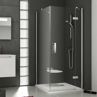 Boční zástěna ke sprchovým dveřím 80x190 cm levá Ravak Smartline chrom lesklý 9SL40A00Z1