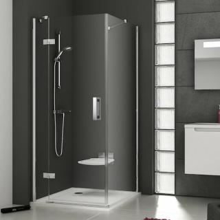 Boční zástěna ke sprchovým dveřím 80x190 cm pravá Ravak Smartline chrom lesklý 9SP40A00Z1