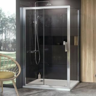 Boční zástěna ke sprchovým dveřím 80x190 cm Ravak 10° chrom lesklý 9UV40C00Z1