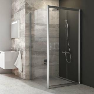 Boční zástěna ke sprchovým dveřím 80x190 cm Ravak Blix chrom matný 9BH40U00Z1 satin