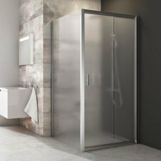 Boční zástěna ke sprchovým dveřím 80x190 cm Ravak Blix chrom matný 9BH40U00ZG satin