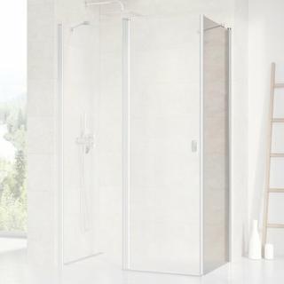 Boční zástěna ke sprchovým dveřím 80x195 cm Ravak Chrome chrom matný 9QV40U00Z1 satin
