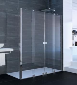Boční zástěna ke sprchovým dveřím 80x200 cm Huppe Xtensa pure chrom lesklý XT1807.069.322 chrom chrom