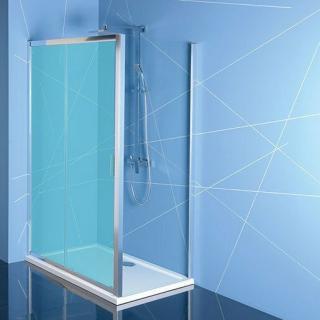 Boční zástěna ke sprchovým dveřím 80x200 cm Polysan EASY chrom lesklý EL3215