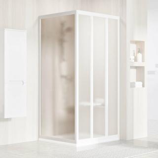 Boční zástěna ke sprchovým dveřím 90x188 cm Ravak Supernova bílá 94070102ZG