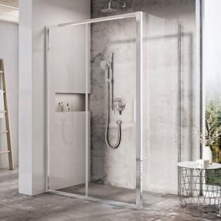 Boční zástěna ke sprchovým dveřím 90x195 cm Ravak Brilliant chrom lesklý X9BM70C00Z1