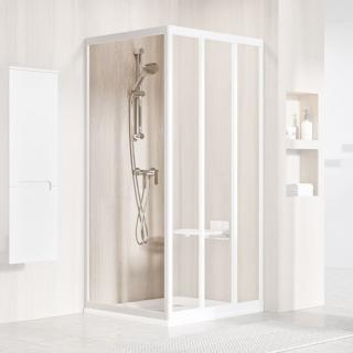 Boční zástěna ke sprchovým dveřím 90x198 cm Ravak Supernova bílá 9407010211 bílá Bílá