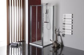 Boční zástěna ke sprchovým dveřím 90x200 cm Polysan LUCIS chrom lesklý DL3415