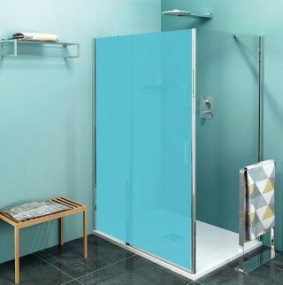 Boční zástěna ke sprchovým dveřím 90x200 cm Polysan Zoom chrom lesklý ZL3290