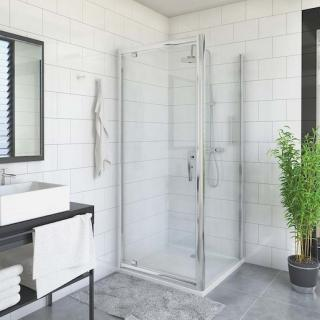 Boční zástěna ke sprchovým dveřím 90x200 cm Roth Proxima Line chrom lesklý 527-9000000-00-15 Brillant