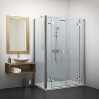 Boční zástěna ke sprchovým dveřím 90x201,3 cm Roth Tower Line chrom lesklý 729-9000000-00-02 Brillant