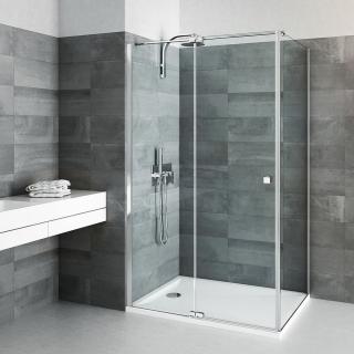 Boční zástěna ke sprchovým dveřím x80Roth Elegant Neo Line BI FXP 08020 VPE