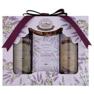 Bohemia Gifts & Cosmetics Lavender kosmetická sada VIII. pro ženy dámské
