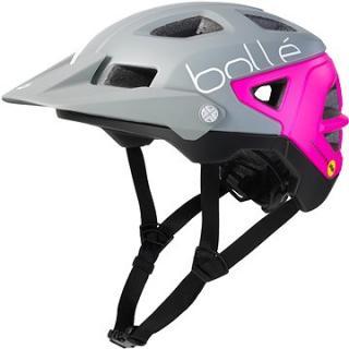 Bollé Trackdown Mips Matte Grey & Neon Pink S 52-55 cm