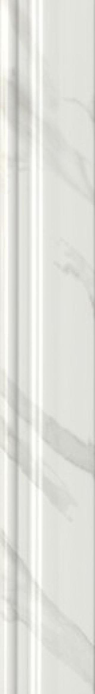 Bombáto Kale Calacatta white 12,5x90 cm lesk 3643 bílá white