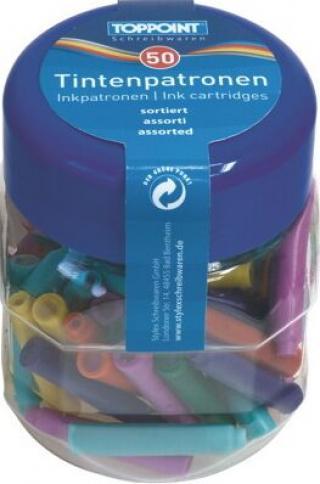 Bombičky do plnícího pera - barevné
