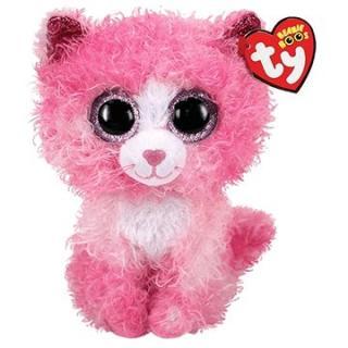 BOOS REAGAN, 15 cm - růžová kočka střapatá