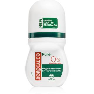Borotalco Pure Original Freshness deodorant roll-on bez obsahu hliníkových solí 50 ml dámské 50 ml