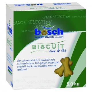 BOSCH Biscuit Lamb & Rice 5kg