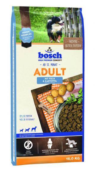 BOSCH HPC Adult Fish&Potato 15kg