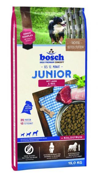 BOSCH HPC Junior Lamb&Rice 15kg
