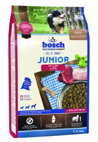 BOSCH HPC Junior Lamb&Rice 3kg