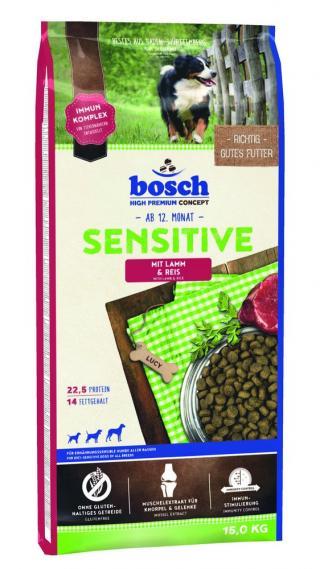 BOSCH HPC Sensitive Lamb&Rice 15kg