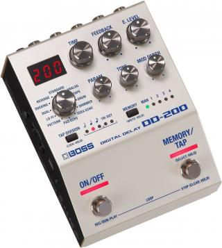 Boss DD-200 Digital Delay Silver
