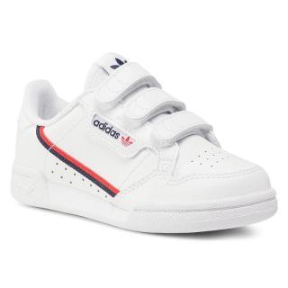Boty adidas - Continental 80 Cf C EH3222 Ftwwht/Ftwwht/Scarle Bílá 31
