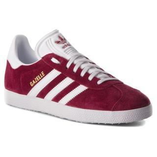 Boty adidas - Gazelle B41645 Cburgu/Ftwwht/Ftwwht Bordó 36