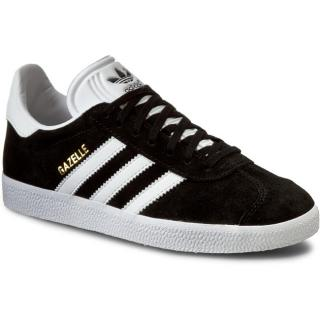 Boty adidas - Gazelle BB5476 Cblack/White/Goldmt Černá 44